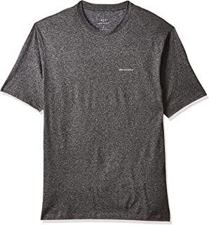 Armani Exchange Men's 8NZT86 T-Shirt, Multicolour (Black Grey Marl 3902), Large