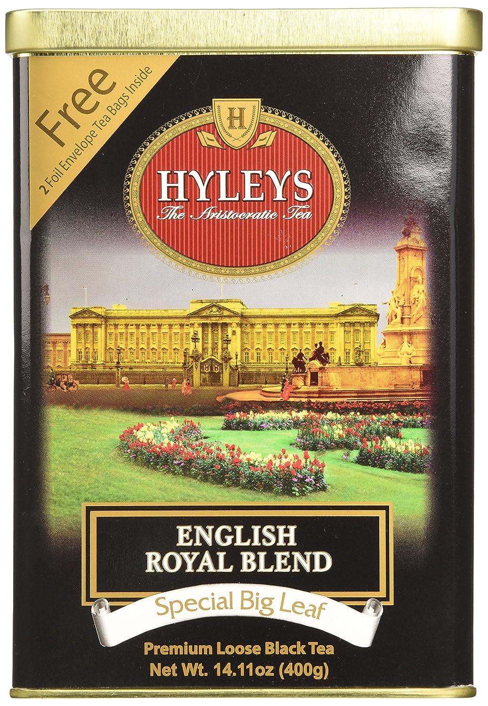 Hyleys English Royal Premium Loose Sale special price Leaf 14.11 - Ounce Tea Raleigh Mall Black