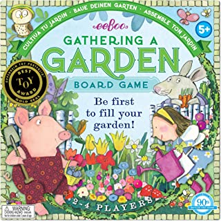 eeBoo Gathering a Garden Board Game for Kids