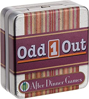 Cheatwell After Dinner Card Game in Mini Tin, Odd 1 Out