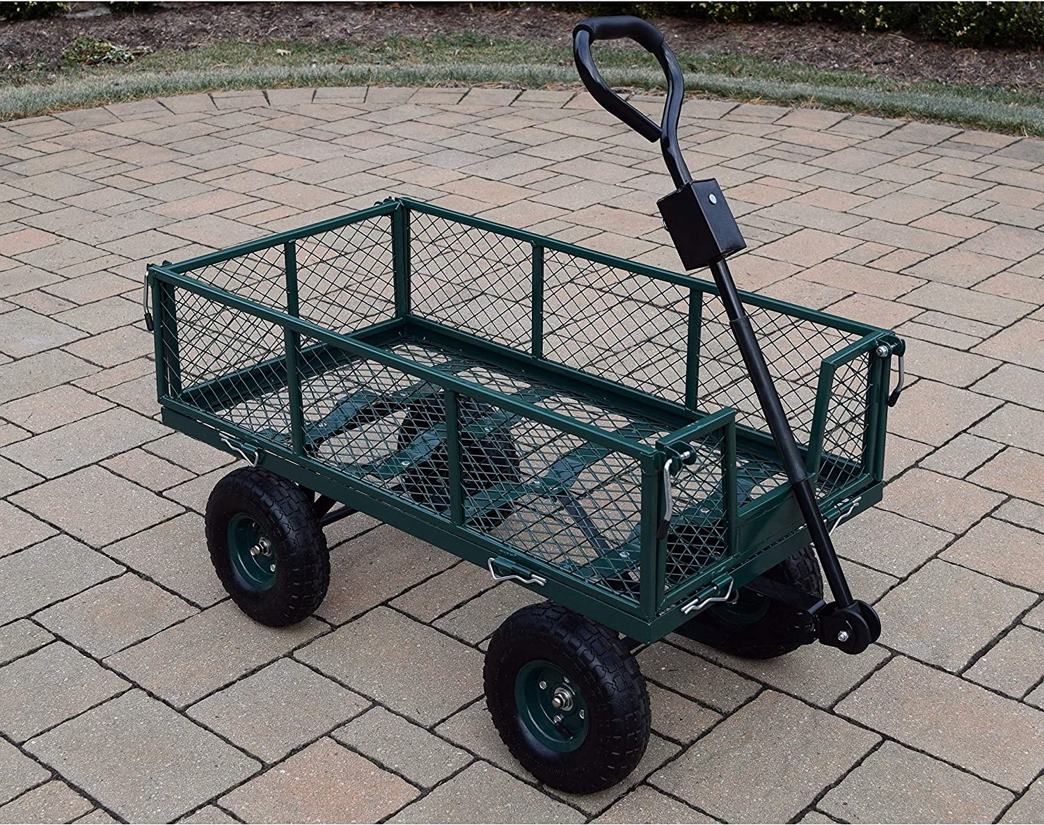 Oakland New product type Ranking TOP2 Living Corporation 450 lb Garden Cart Weight Capacity wi