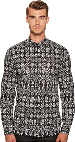 Just Cavalli - Chessmate Button Down