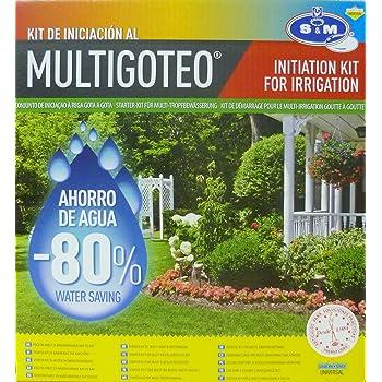 S&M 544286 Kit de Iniciación al Riego por Goteo para terrazas ...