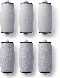 Masirs Electric Callus Remover Refills - Three Coarse and Three Fine Buffer Rollers will Effortlessly Remove Callused Skin...