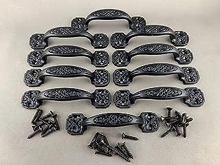 BI01RE1022-4.25BLP_10 - Antique Black Powder Coat Finish Cast Iron 4.25