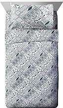 Jay Franco 3 Piece Twin Sheet Set, JF22871EPCD, Microfiber, Grey, Twin