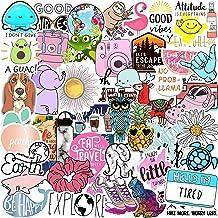 70 VSCO Stickers, Aesthetic Stickers, Cute Stickers, Laptop Stickers, Vinyl Stickers, Stickers for Water Bottles, Waterpro...