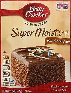 Betty Crocker Super Moist Milk Chocolate Cake Mix (2 Pack