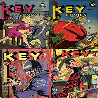 Key Comics. Issues 1, 2, 3 and 4. The case of the dagger key, skeleton key + 5 more original features. Digital Sky Comic Compilations Crime, Justice and Law (English Edition)