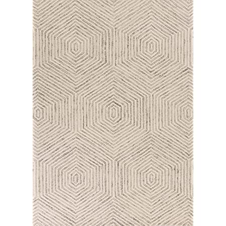 Bashian Rajapur Collection Cal927 Hand Tufted 100 Wool Area Rug 7x9 Aqua Furniture Decor