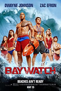 Baywatch Movie Poster Limited Print Photo The Rock Zac Efron Daddario Kelly Rohrbach Pamela Anderson Hasselhoff Size 11x17 #1