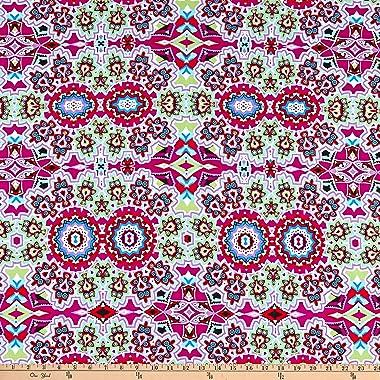 Fabric Merchants Swimwear Nylon Spandex Bohemian, Multi Yard