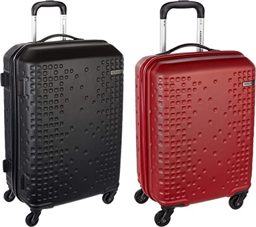 Cruze ABS 70 cms Black Hardsided Suitcase Cruze ABS 55 cms Red Hardsided Suitcase AN6 0 09 002 AN6 0 00 001