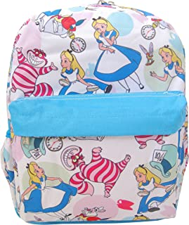 Disney Alice in Wonderland 12 inch All Over Print Backpack