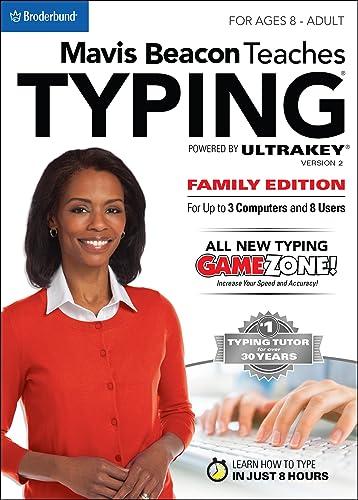 Mavis Beacon Teaches Typing Powered by Ultrakey v2 - Family Edition [Download]