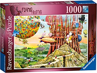 Ravensburger Flying Home 1000 Piece Jigsaw Puzzle for Adults – Every Piece is Unique, Softclick Technology Means Pieces Fit Together Perfectly