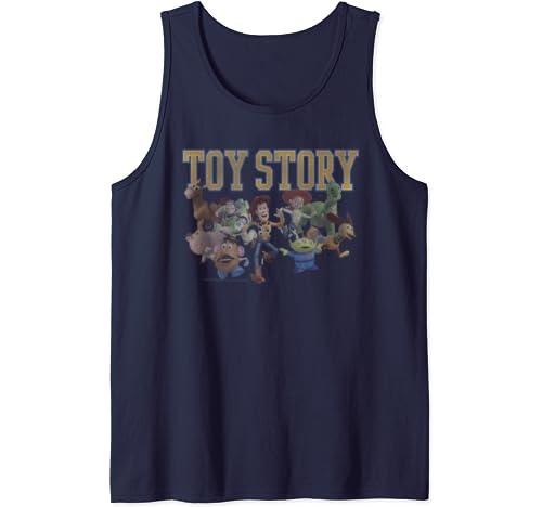 Disney Pixar Toy Story Group Shot Run Tank Top