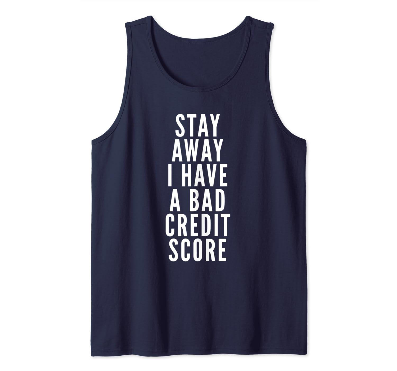 Amazon com: Bad Credit Score Finance Tank Top: Clothing