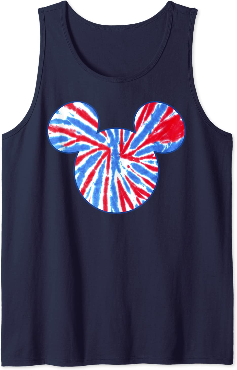 Disney Mickey And Friends Americana Tie Tank Fill Dye Top High order 2021 new