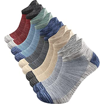 1//5 Pairs Breathable Men/'s Socks Invisible Ankle Cotton Sock Boat Socks Trainer