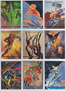 1993 Marvel Masterpieces Series II Base Set of 90 Cards NM/M Jusko, Vallejo, Bell