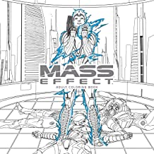 Mass Effect Adult Coloring Book