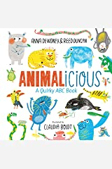 Animalicious: A Quirky ABC Book Kindle Edition