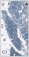 Sobay Map P005 - Vancouver Island & Vicinity (Salish Sea) - 31x59 Wall Map - Paper or Laminated (Paper)