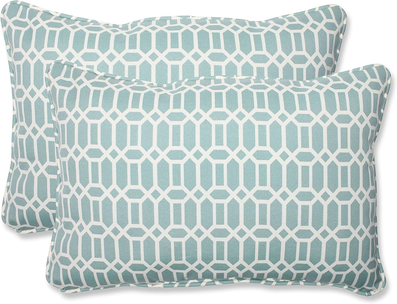 Pillow Perfect Outdoor Indoor Super sale Superior Rhodes Quartz Pil Oversized Lumbar