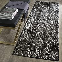 black and cream carpet runner