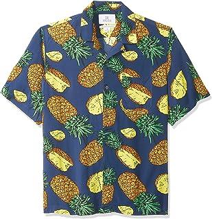 Marca Amazon - 28 Palms - Camisa vintage de rayón 100 %