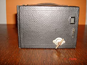 Vintage No. 2 Kodak Brownie Box Cámara Modelo D