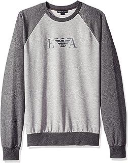 Emporio Armani Men's Melange Mix Terry Sweater