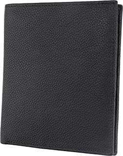 RFID Blocking Mens Leather Bi-Fold Big Hipster Wallet, 13 credit card slots