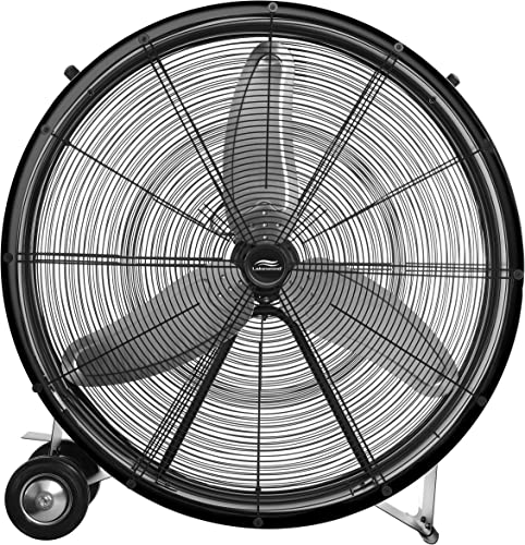 new arrival Lakewood 36-Inch new arrival Industrial Grade outlet sale Drum Fan outlet online sale