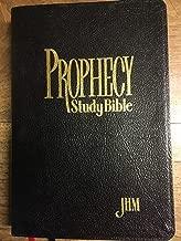 Prophecy Study Bible NKJV (John Hagee) Black Bonded Leather