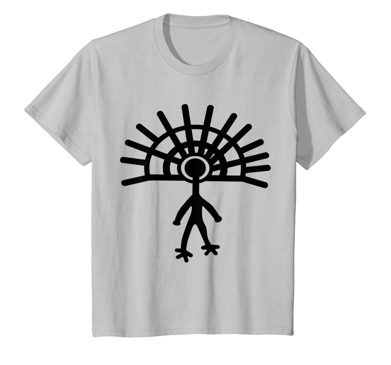 Amazon.com: Ancient astronauta playera Alien Petroglyph Cave ...