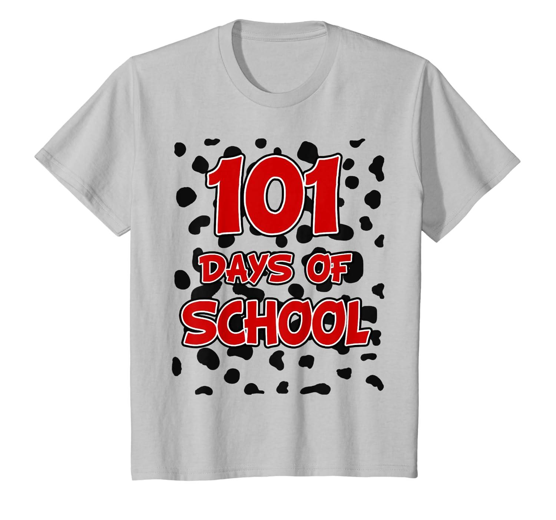 101 Days Of School Teacher Dalmatian Dog T-shirt - Dogs T Shirt For Men Women