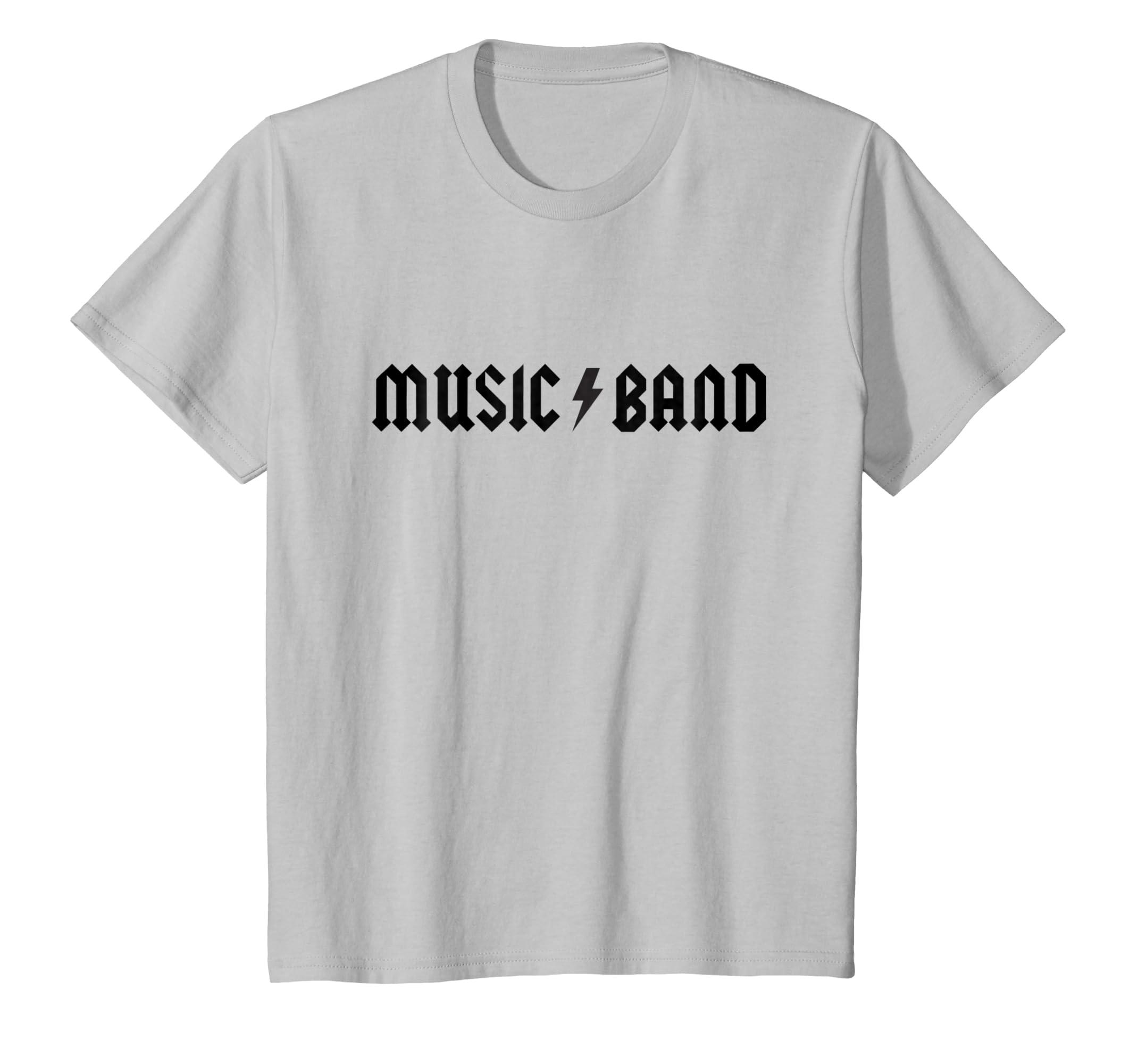 6c65e37dc Amazon.com: Music Band T-Shirt: Clothing