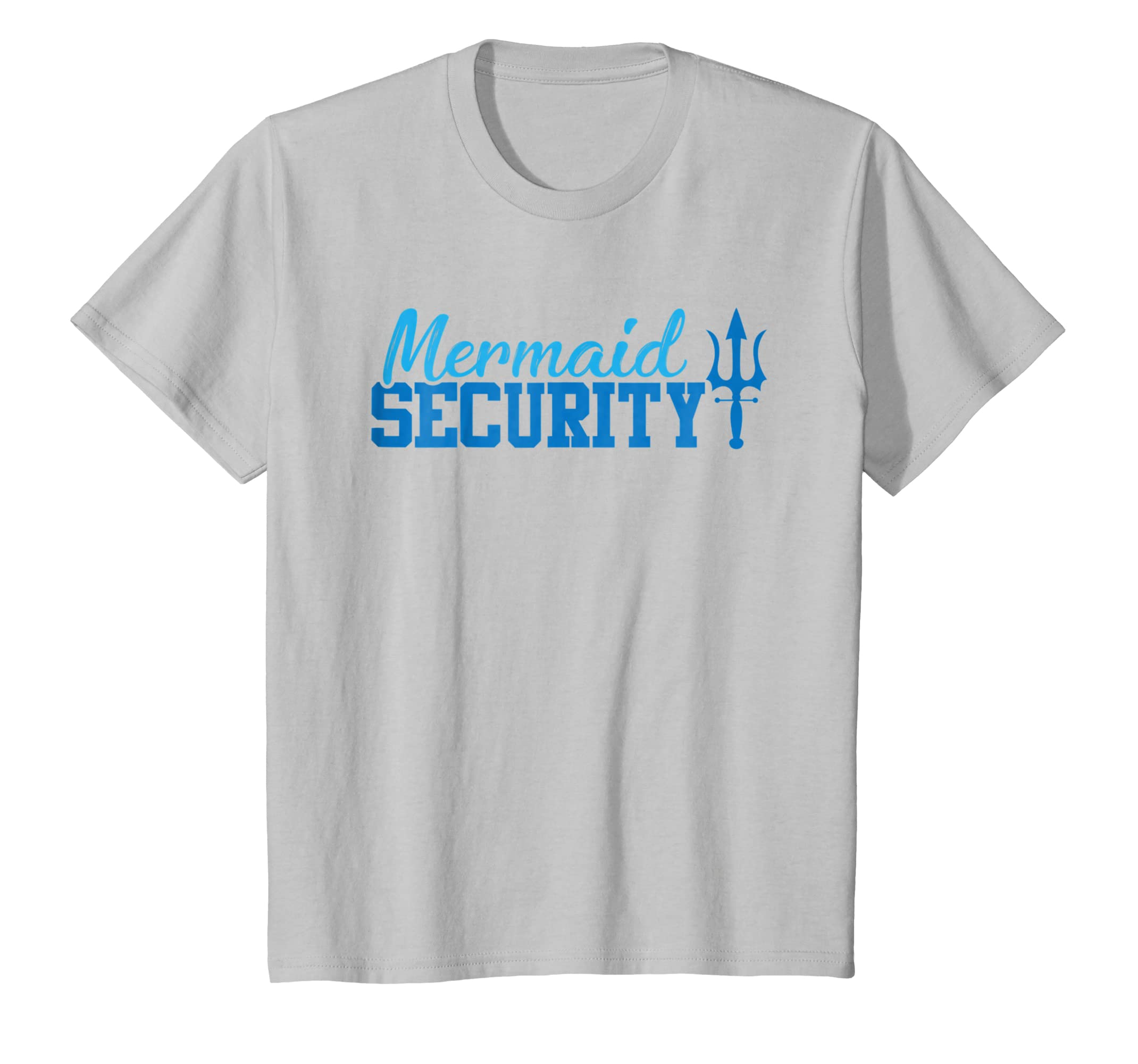Mermaid Security Shirt Funny Swimming Gift-Protee