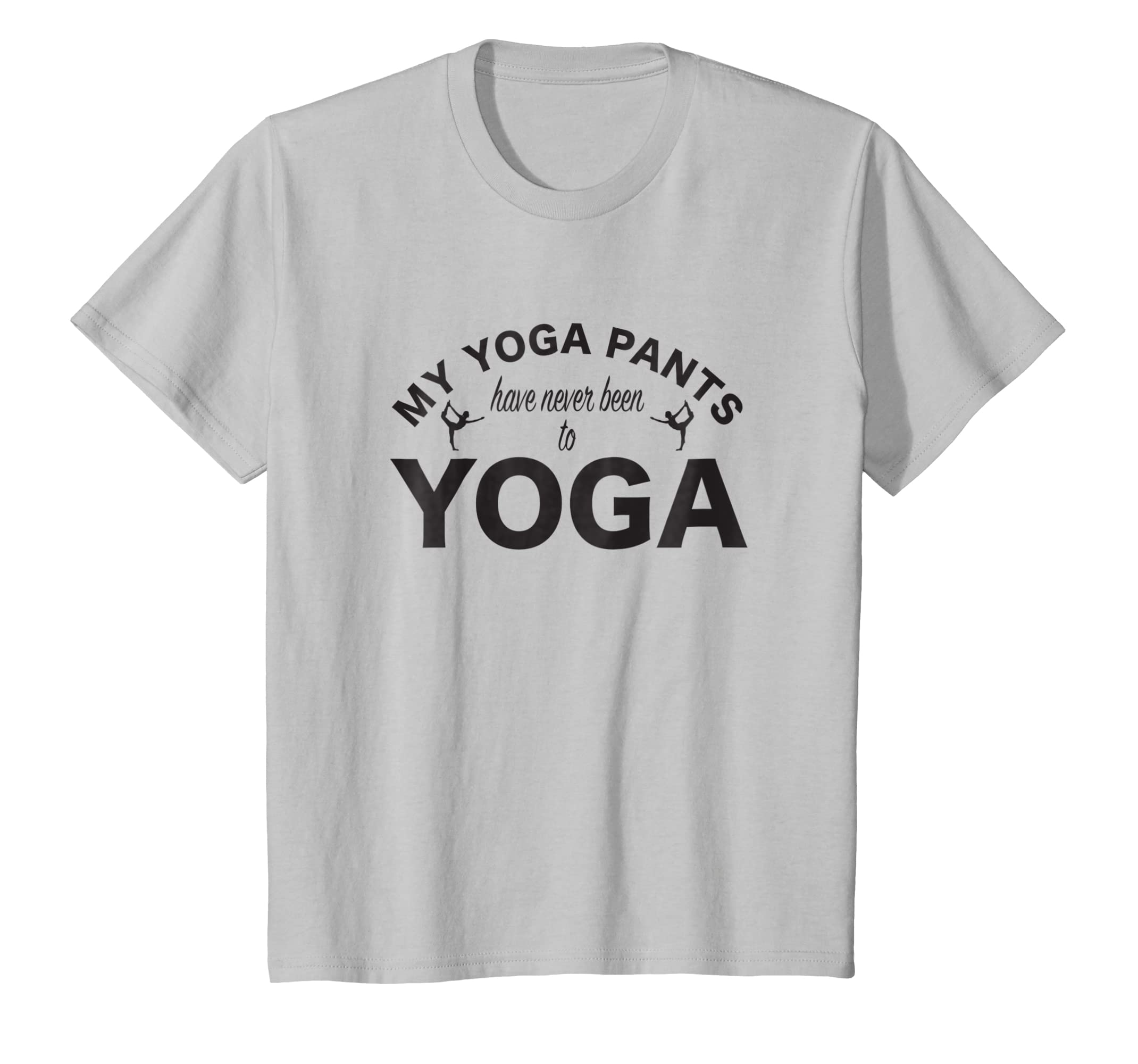 Amazon.com: Funny Yoga Pants T-Shirt Cute Yoga Shirt: Clothing