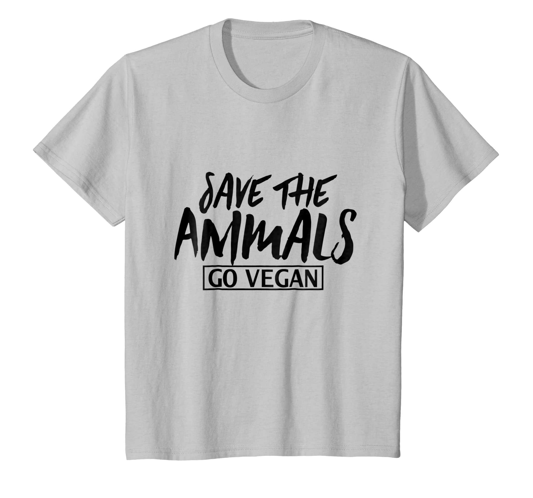 0d06e203 Amazon.com: Save The Animals GO VEGAN T-shirt: Clothing