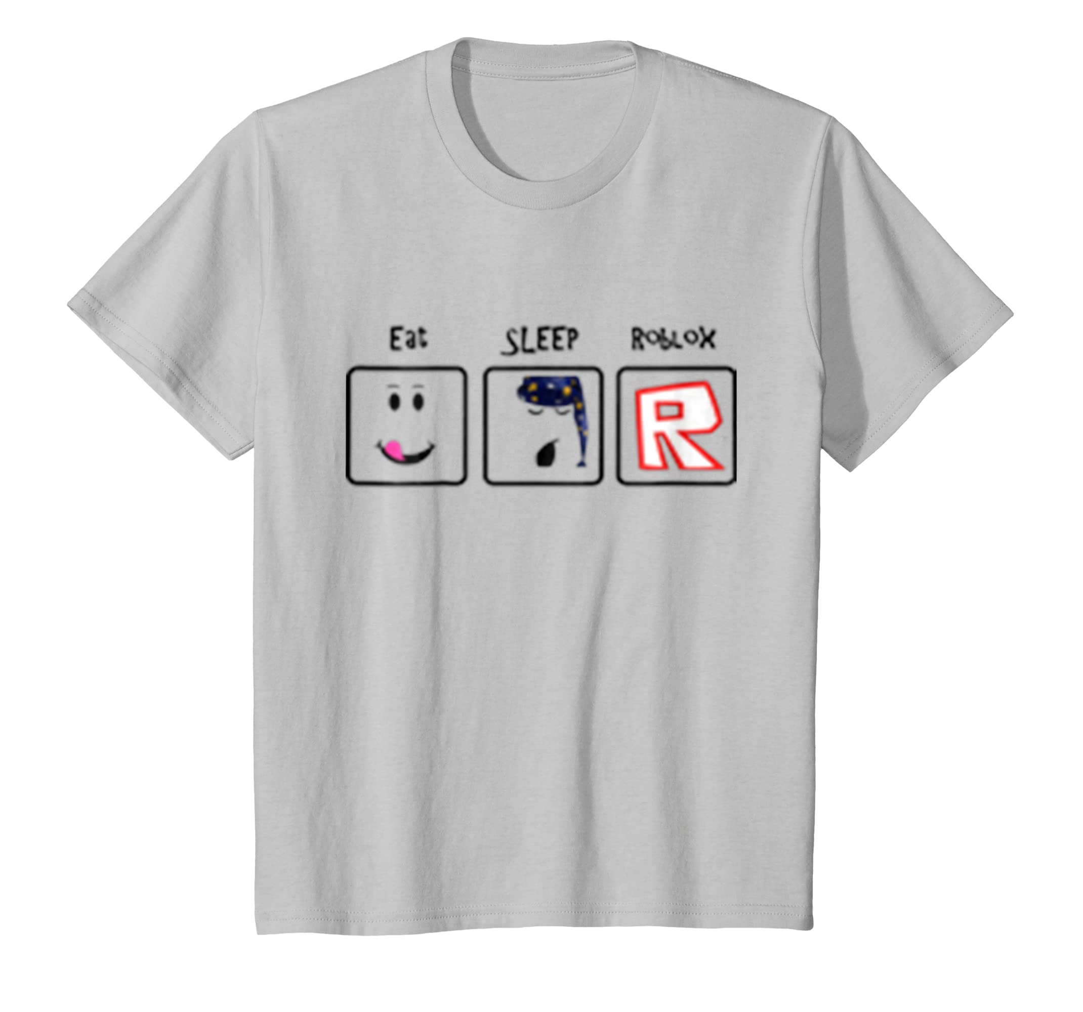 Kids Loves Eat.Sleep Roblox, Tshirt-Newstyleth