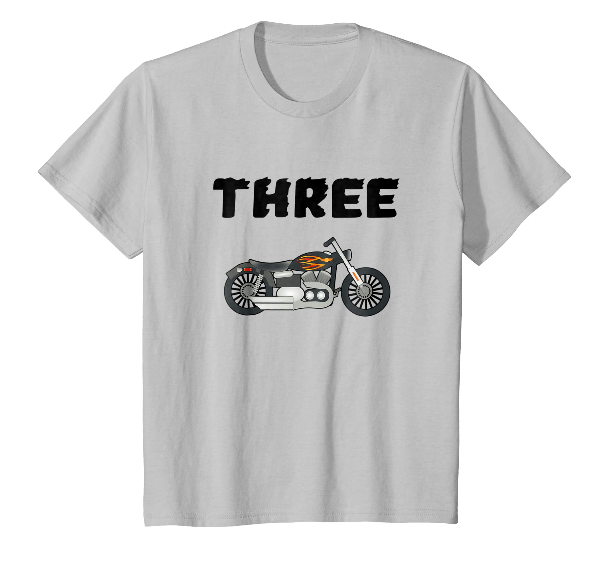 Amazon Kids 3 Year Old Motorcycle Birthday Party 3rd Shirt Clothing