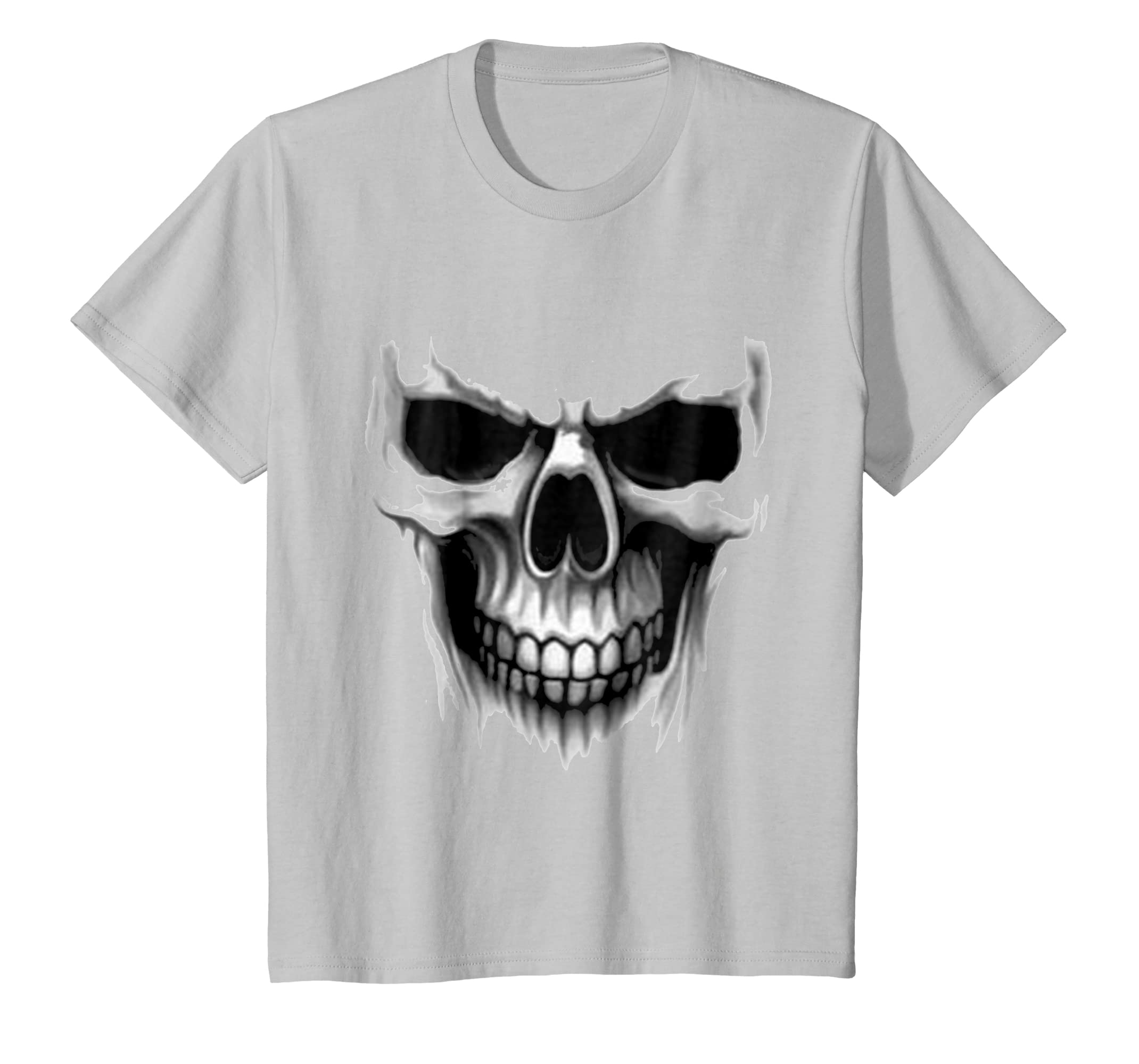 Amazon.com: CRANIUM DARK HORROR REAL SKULL BLACK DEAD MASK TEE-SHIRT: Clothing
