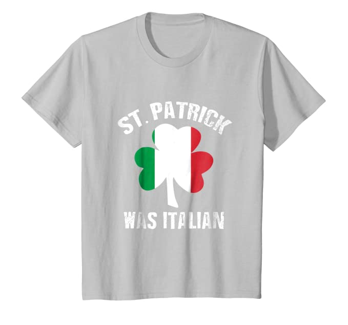 e5167025 Amazon.com: St Patrick Was Italian T-Shirt: Clothing