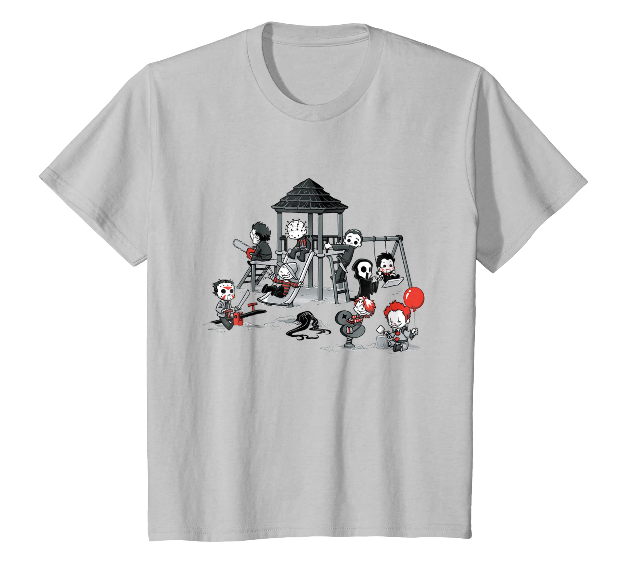 Horror Park Movies Evils Kids Funny Halloween Gift-Bawle