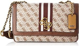 GUESS Womens Shoulder Bag, Brown - SB730419