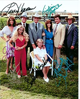 Dallas, with Larry Hagman, Classic TV, 8 X 10 Autograph Photo on Glossy Photo Paper