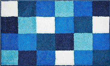 Grund Bath Mat, Ultra Soft and Absorbent, Anti Slip, 5 Years Warranty, BONA, Bath Mat 60x100 cm, Blue